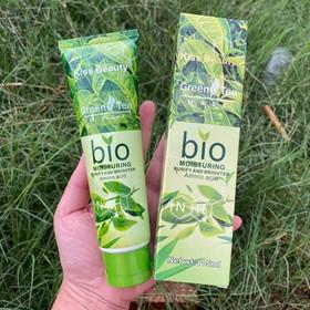 Gel mặt nạ tẩy da chết Trà Xanh Kiss Beauty Green Tea Bio Mask - B1023