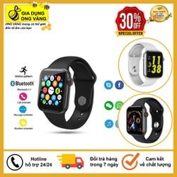 Đồng Hồ Thông Minh W34 Đồng Hồ Chuẩn 1 1 Seri Watch 4 Kết Nối Bluetooth Với Điện Thoại  Theo Dõi Sức Khỏe  Nhịp Tim