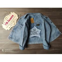 Áo khoác jean nữ Garula form lững - áo khoác jean nữ hàng shop cao cấp bao đẹp kiểm hàng Chiwawa shop