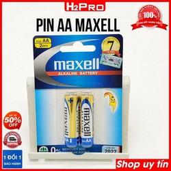 Đôi Pin AA 1.5V Maxell, pin aa cho máy ảnh, máy nghe nhạc