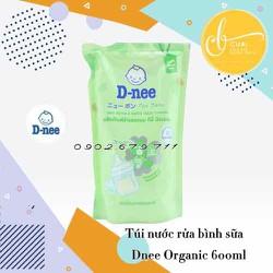 Nước rửa bình cho bé và rau củ quả Dnee 600ML