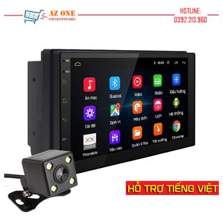 (Hỗ trợ Tiếng Việt) Màn Hình Cảm Ứng LCD 7 inch Hỗ Trợ Nghe Nhạc MP5 Bluetooth Wifi GPS Android 9.1 Bản Mới Nhất - Android 9.1 thumbnail