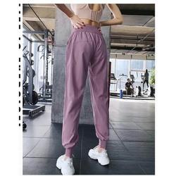 quần tập gym jogger infla phom siêu rộng có 3 màu cá tính, đồ tập gym nữ giá rẻ tphcm-SR017