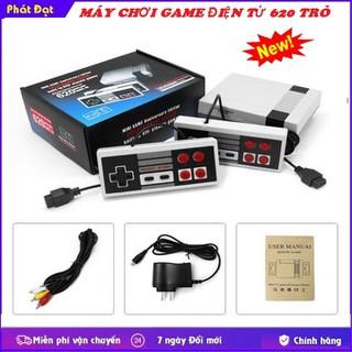 Máy chơi điện tử 4 nút Nintendo 620 trò chơi - Máy chơi game 620 trò xanh thumbnail