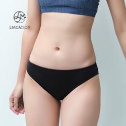 Quần bơi bikini nữ kín đáo đi biển LMCATION Jane - màu đen