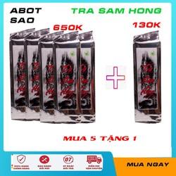 Trà Sâm Hồng - [ ĐẶC BIỆT ] Mua 10 Tặng 5 - giải độc mát gan, chống mất ngủ - trà sam hồng 500gr