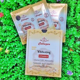 Bộ 3 gói tắm trắng bật tone 701 Collagen Whitening – LQ338 - 5222sola