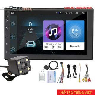 (Hỗ trợ Tiếng Việt) Màn Hình Cảm Ứng LCD 7 inch Android 9.1 Bản Mới Nhất Kèm Camera Lùi - Android 9.1 thumbnail
