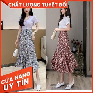 Chân váy hoa dài Hàn Quốc CV124 - CV124 thumbnail