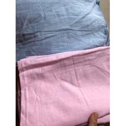 Vải linen chất mềm mát may đầm váy, áo quần cho mẹ và bé, may áo somi nam nữ, khẩu trang linen