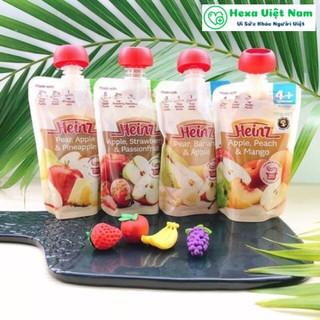Váng Sữa Heinz Của Úc Vị Táo Dâu Chanh Leo 120G - SP00020 thumbnail