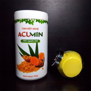 Tinh Bột Nghệ Đỏ Nguyên Chất Acumin Hộp 500Gr - TBNACM500 thumbnail