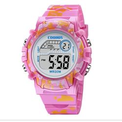 [MIỄN PHÍ GIAO HÀNG] Đồng hồ trẻ em đa chức năng kết hợp hiệu ứng đèn Lex 7 màu chính hãng Coobos