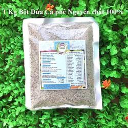 Bột Dừa Cà Phê 1 Kg có giấy VSATTP và ĐKKD nguyên chất thiên nhiên 100% dùng để đắp mặt đa công dụng