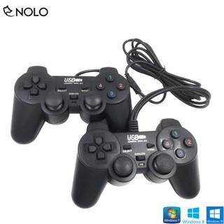 Combo Bộ 2 Tay Cầm Chơi Game Joystick Có Dây Model TGD01 Dùng Chung 1 Đầu Ra Cổng USB Tương Thích Tốt Trên Win 10 - taygametgd01 thumbnail
