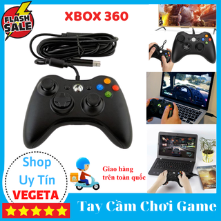 Tay cầm chơi game - Tay cầm chơi game Microsoft XBox 360 thumbnail