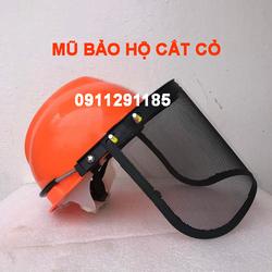 Mũ bảo hộ, Mũ bảo hộ có kính để cắt cỏ, hàn, phòng dịch - MBH1