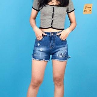 Quần short jean nữ rách SJ01 - SJ01 thumbnail