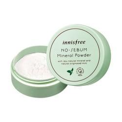 Phấn Phủ Bột kiềm dầu Innisfree. No Sebum Mineral Powder