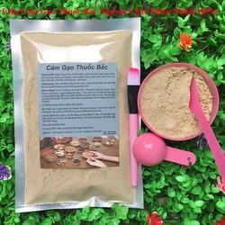 Bột Cám Gạo Thu-ốc Bắc 1 Kg có giấy VSATTP và ĐKKD nguyên chất thiên nhiên 100% dùng để đắp mặt đa công dụng