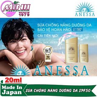 Sữa Chống Nắng Dưỡng Da Bảo Vệ Hoàn Hảo Anessa Perfect UV Sunscreen Skincare Milk 20ml - AN16170 4