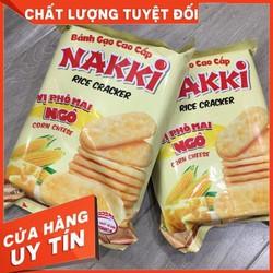 Bánh Gạo Phomai Ngô Nakki 118G