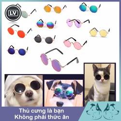 Kính mắt thời trang giá rẻ cho thú cưng Phụ Kiện Long Vũ