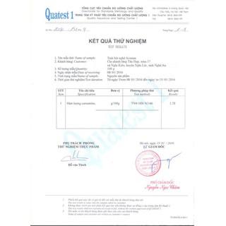 Tinh Bột Nghệ Đỏ Nguyên Chất Acumin Hộp 500Gr - TBNACM500 5