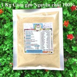 Bột Cám Gạo Sữa 1 Kg có giấy VSATTP và ĐKKD nguyên chất thiên nhiên 100% dùng để đắp mặt đa công dụng