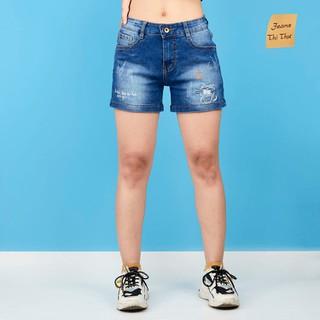 Quần Short jean nữ họa tiết SJ03 - SJ03 thumbnail