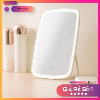 Gương trang điểm có đèn led - gương trang điểm Xiaomi thumbnail