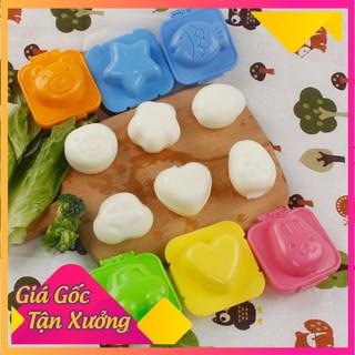Bộ 6 khuôn ép cơm bánh trứng cho bé - KCCB-1 thumbnail