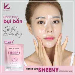Hộp 6 miếng Mặt Nạ Lên Men Sinh Học Từ Dừa Tươi Sheeny Kay Beauty