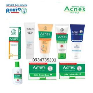 Bộ 8 sản phẩm Acnes chăm sóc da trước và sau mụn - 050 thumbnail