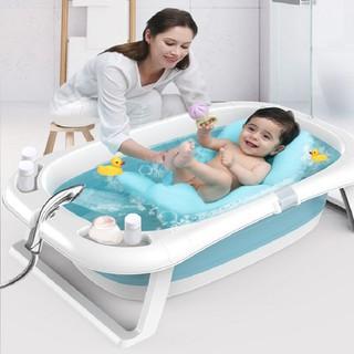 Bồn tắm cho bé có nệm hơi và nhiệt kế - 9294 thumbnail