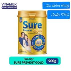 Sữa Bột Vinamilk Sure Prevent Gold 900g - Chính Hãng - Mẫu Mới