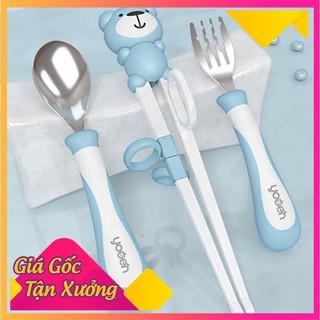 Bộ Thìa Ăn Dặm Cho Bé Yêu Hình Con Gấu - BTDKDTACB-1 thumbnail