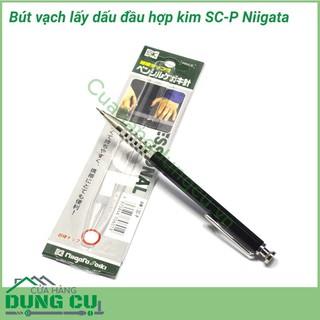Bút lấy dấu trên kim loại đầu hợp kim SC-P Niigata Nhật Bản - BLDSCP thumbnail