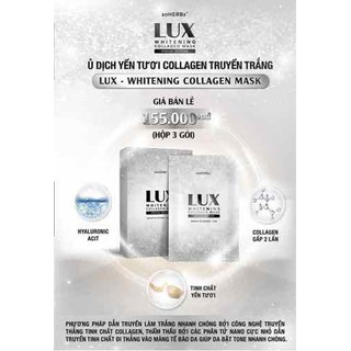 Ủ TRẮNG DỊCH YẾN COLLAGEN LUX - ulux thumbnail