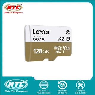 Thẻ Nhớ MicroSDXC Lexar Professional 667X V30 U3 4K A1 128GB R100MB s (Vàng) - Không Box - TFLEXAR667X-128GBKBOX thumbnail