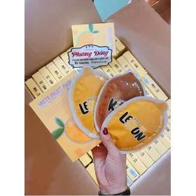 ủ trắng chanh lemon white fruit mask q-lady (chính hãng) - tắm chanh q lady mới