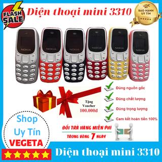 [Thanh Lý] Điện thoại mini - Điện thoại 3310 mini thumbnail