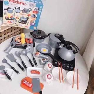 Bộ đồ chơi nấu ăn 36 chi tiết cho bé yêu - Nấu ăn thumbnail