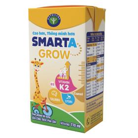 sữa bột pha sẵn smarta grow nutricare thùng 48 hộp 110ml cao hơn thông minh hơn - vitamin k2