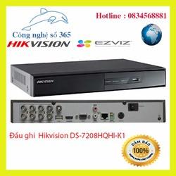Đầu ghi 8 kênh Hikvision DS-7208HQHI-K1 HÀNG CHÍNH HÃNG bảo hành 2 năm [ĐƯỢC KIỂM HÀNG] [ĐƯỢC KIỂM HÀNG]