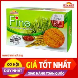 Bánh ăn kiêng yến mạch gạo lứt Fine 178g - Nhập khẩu chính ngạch từ Malaysia