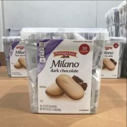 Bánh quy socola đen Pepperidge Farm Milano Dark Chocolate Cookies 630g