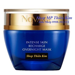 Mặt nạ ngủ dạng kem NovAge Intense Skin Recharge Overnight Mask - 33490