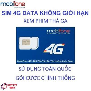 SIM 4G TỶ GB MOBIFONE CÓ SẴN 2 THÁNG ĐẦU-5k - 5k-fv99 thumbnail