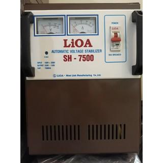 LIOA 7.5KW GIẢI 150-250V. 100% DÂY ĐỒNG - SH-7500N thumbnail